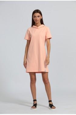Платье Kivviwear 4029 коралловый