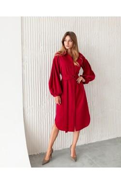 Платье Krasa 238-21 ягодный