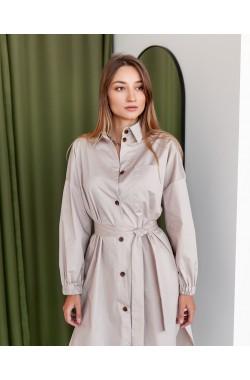 Платье Krasa 272-21 бежевый