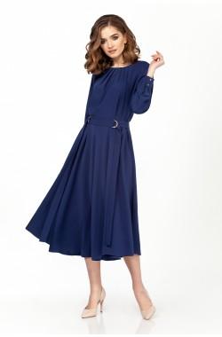 Платье Olegran 3704 синий