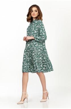 Платье Olegran 3728 зеленый
